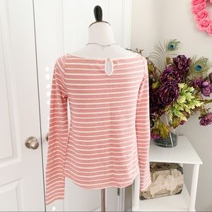Anthropologie Tops - Anthropologie Red and White Striped Top